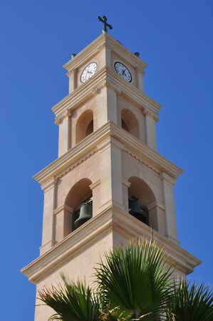 yaffo: Iglesia de campanario de San Pedro en Jaffa.