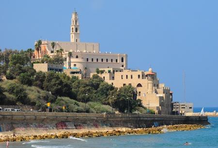 Old Jaffa as seen from Tel-Aviv side.
