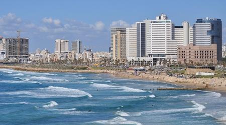 Tel-Aviv seashore.