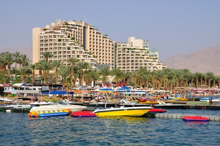 eilat: East Eilat beach