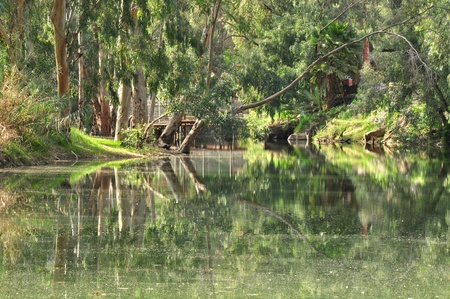 Jordan river. photo