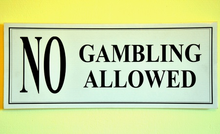 hustler: Prohibition sign of pool game.