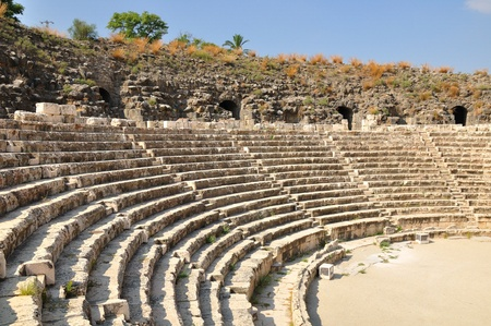 Ancient amphitheater in Beit-Shean. Israel.