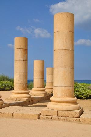 caesarea: Caesarea park of ruins.
