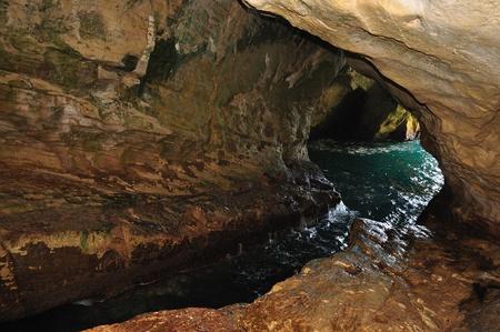 hanikra: Natural grotto at Rosh hanikra  Israel