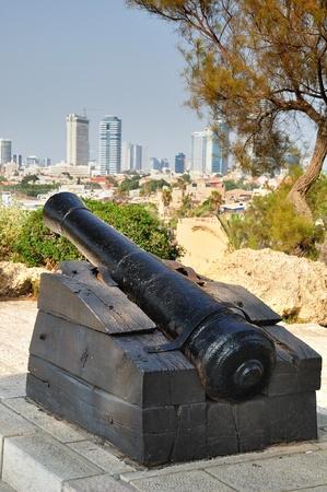 gunnery: Napoleon`s gunnery in old Jaffa.