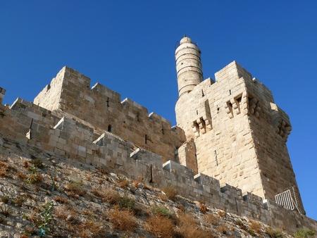 embrasure: King David s tower  Old Jerusalem