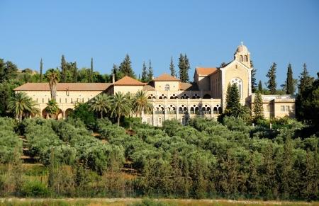 holyland: Trappists monastery in Latrun area  Israel  Stock Photo