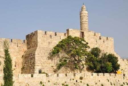 embrasure: Old Jerusalem wall