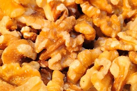 shrunken: Close up picture of walnuts