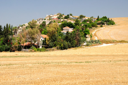 zionism: Israeli village in Northern Israel  Stock Photo