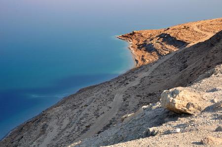 holyland: Wild coast of the dead sea  Israel