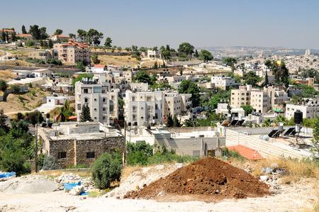 holyland: New arab quarter in East Jerusalem near Mount of Olives