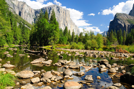 Yosemite national park. California. USA. Stock Photo