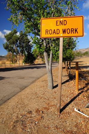 signboard: Warning signboard at the roadside.  Nevada. USA.