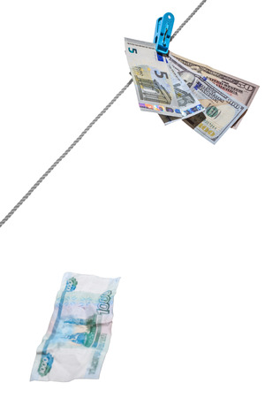 rubles: Dollars, euro and rubles, Ruble crash