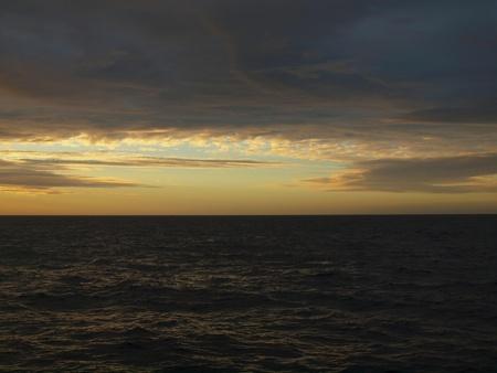 Sea kinds of southern Atlantic, sea sunset photo