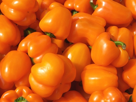 Sweet Bulgarian pepper     Stock Photo