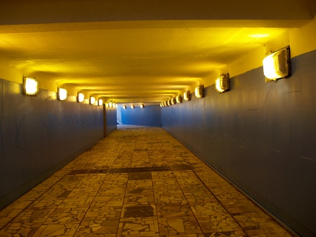 The shined underground transition