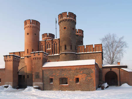 Kaliningrad, Russia   Fridrihsburgsky gate in the winter