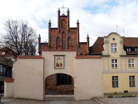 Gdansk  View of Sacred Elzhbeta s church Stock Photo - 13419663