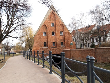 Small mill in Gdansk, Poland Stock Photo - 13420049