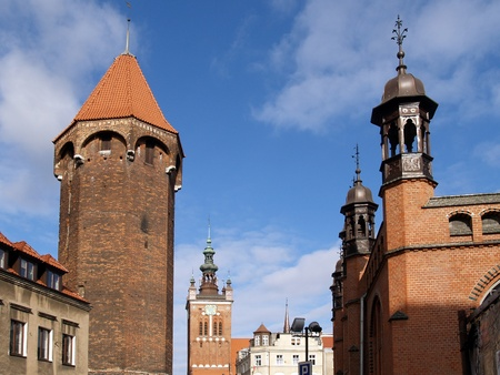 View of old Gdansk, Poland Stock Photo - 13419682
