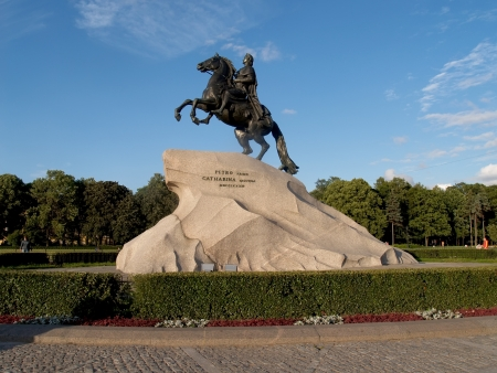 peter the great: St  Petersburg  Monument to Peter the Great