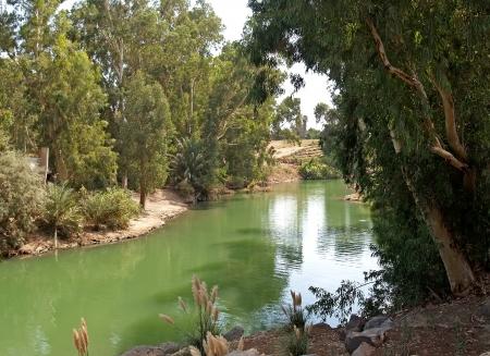 Israel  The river Jordan - a place of a baptism of Jesus Christ