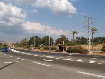 Israel  The highway in Galilee photo