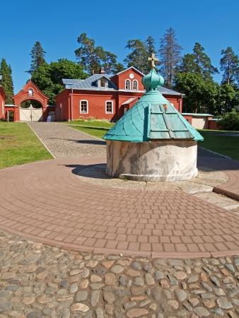sacred source: Voskresensky monastery of the Valaam monastery