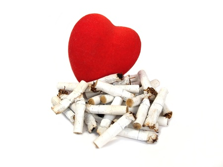 harm: Heart and stubs  Harm of smoking