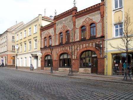Lithuania  Tiltu Street in Klaipeda