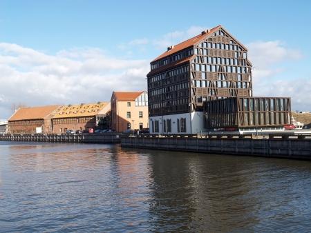 Klaipeda, Lithuania  Dana River Embankment