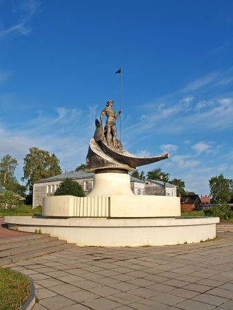 Petrozavodsk  Sculpture  Onega  Editorial