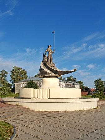 onega: Petrozavodsk  Sculpture  Onega  Editorial