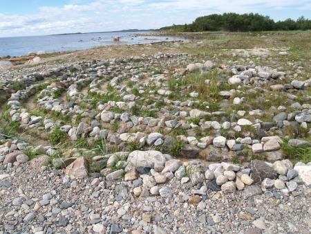 regenerated: Stone labyrinth on the Big Solovki island, Russia