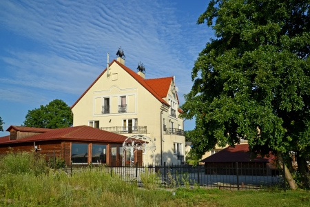 Guest house in the Kaliningrad region, Russia