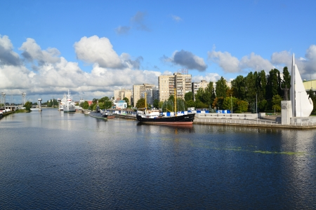 peter the great: Kaliningrad  Peter the Great Embankment