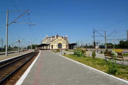 nodal: Railway junction of Kazatin, Ukraine Editorial