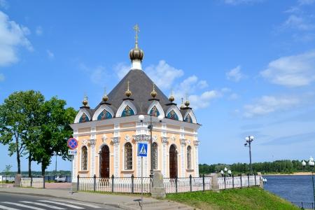 Rybinsk, Russia  Sacred Nikolay Chudotvortsa Фото со стока