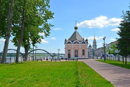 Rybinsk   Sacred Nikolay Chudotvortsa Фото со стока