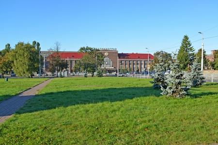 Kaliningrad  Area of Kalinin and Yuzhnyj station
