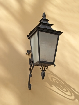 Pavlovsk. Decorative lamp on a wall of the Big palace Stock Photo - 23682787