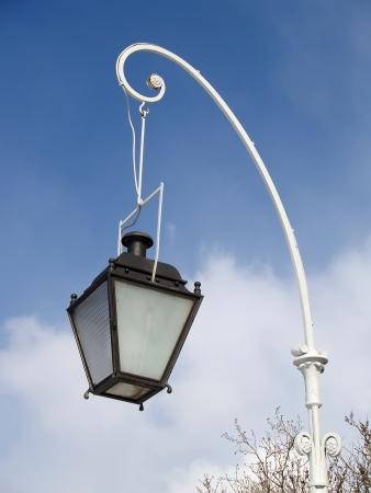 plafond: Decorative lamp against the sky