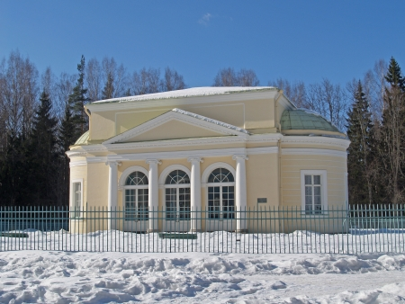 Pavlovsk   Pavilion  Round hall   photo