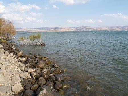 Israel, Kineret Stock fotó