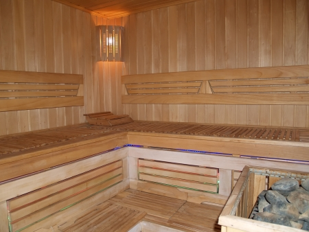 Sauna interior   photo