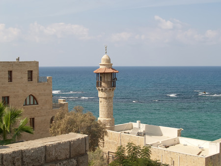 yaffo: Israel Mezquita Dzhama el-Bajar al-Bakhr, la mezquita de mar en Yaffo