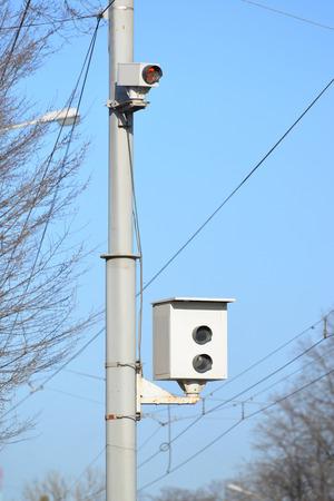 Camera of fixing of violation of traffic regulations